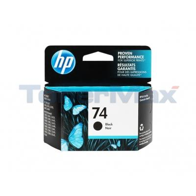 HP NO 74 INK BLACK